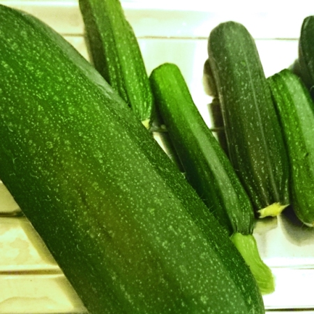 Cheap and cheerful courgettes