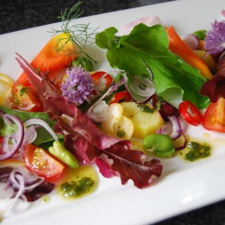 Summer salad colours