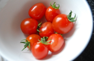 Tomatoberry tomatoes - the first to ripen