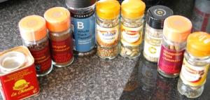 Spicy Middle Eastern ingredients