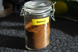 The finished Baharat