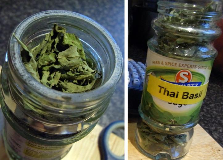 Home-dried Thai Basil